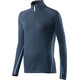 Houdini W's Wooler Halfzip Sweater Blue Illu/Blue Light